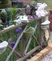 frogs, cones & wallpots